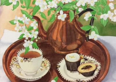 Tea & Philadelphus