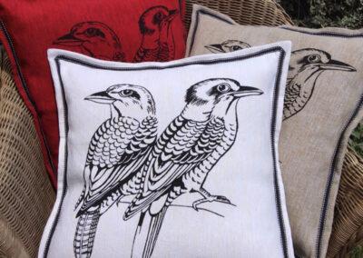 Kookaburra Cushions