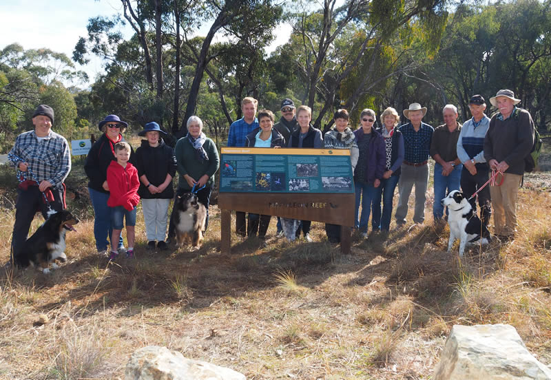 Interpretive Sign Unveiling