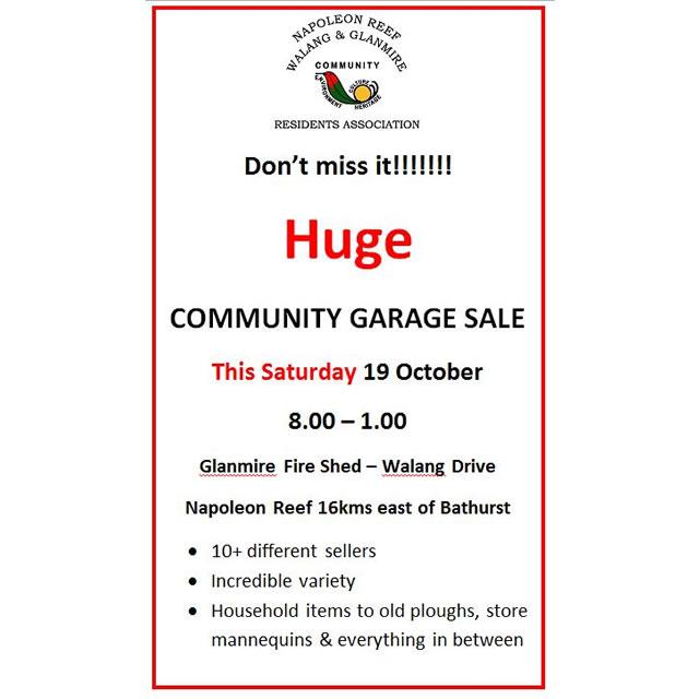 2019 Garage Sale
